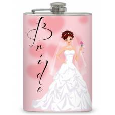 8oz Bride Memento Flask