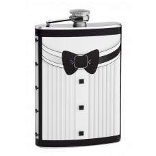 Tuxedo Flasks for Groom, Best Man or Groomsmen