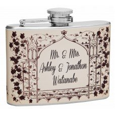 4oz Hip Flask for Lovers